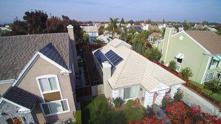 residential solar panel system