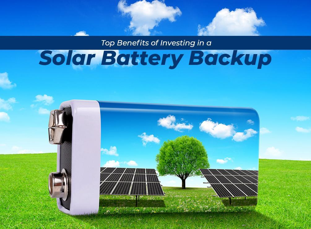 Solar Pv Systems Backup Power Ups Systems: Top Benefits Of Investing In A Solar Battery Backup